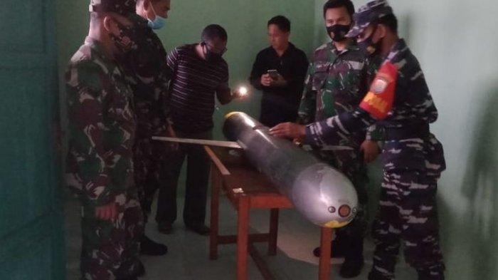 Ini Kata TNI AL soal HebohBenda Mirip Rudal Berkamera Ditemukan Warga di Perairan Sulawesi