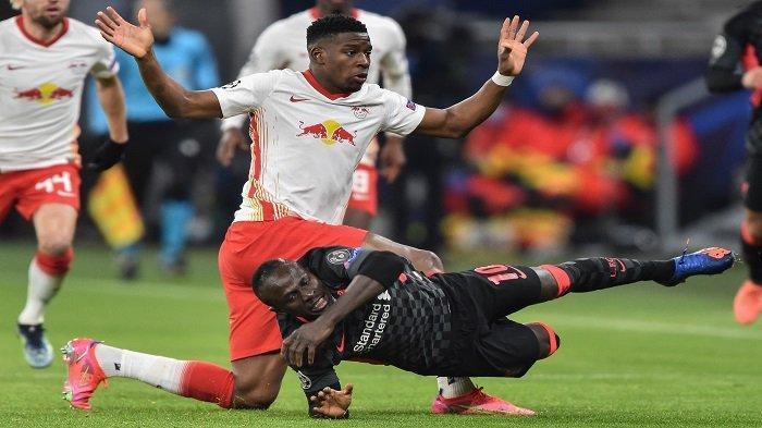 Kabak & Jones Bikin Sejarah Skor Sama Kuat 0-0 Hasil RB Leipzig vs Liverpool Babak Pertama