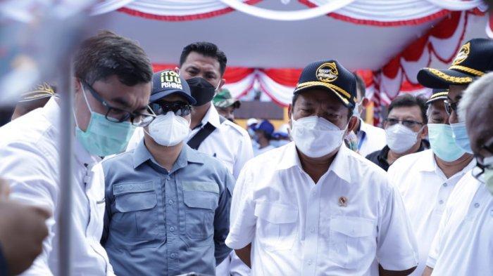 Menteri Trenggono Dorong Belitung Jadi Pusat Budidaya Perikanan