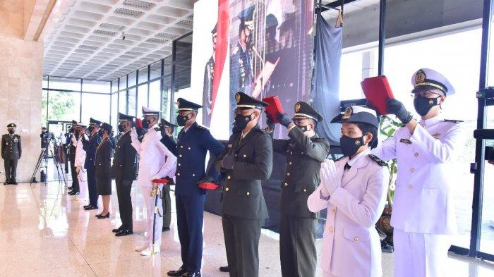 Panglima TNI Lantik 164 Perwira Tenaga Kesehatan TNI buat Tambah Kekuatan Hadapi Pandemi Covid-19